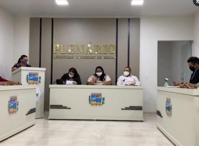 Vereadores participam de mais uma reunião ordinária da Câmara Municipal de Malta